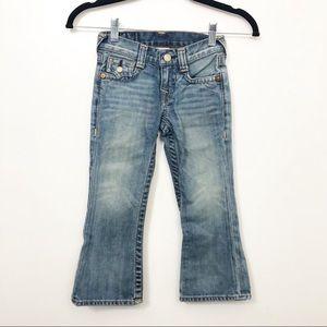 True Religion Boys Lightwash Denim Blue Jeans TR